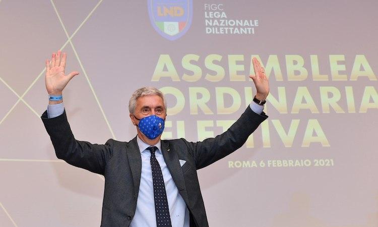 Sibilia confermato Presidente della Lega Nazionale Dilettanti